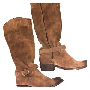 MATISSE LEATHER COWGIRL BOOTS SIZE 9.5